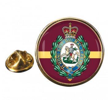 Royal Regiment of Fusiliers (British Army) Crest Round Pin Badge