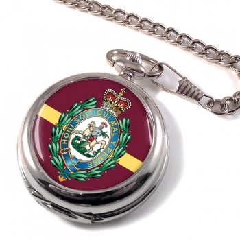 Royal Regiment of Fusiliers (British Army) Crest Pocket Watch