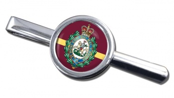 Royal Regiment of Fusiliers (British Army) Crest Round Tie Clip