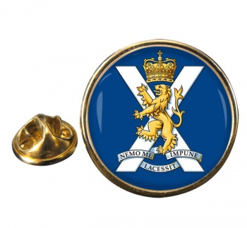 Royal Regiment of Scotland Round Pin Badge