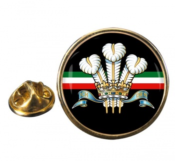 Royal Regiment of Wales (British Army) Round Pin Badge