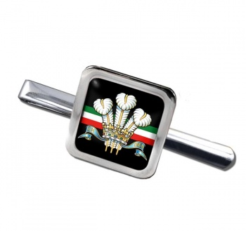 Royal Regiment of Wales (British Army) Square Tie Clip