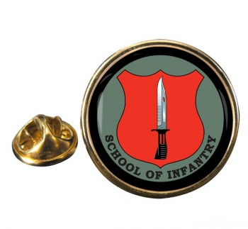 School of Infantry (British Army) Round Pin Badge