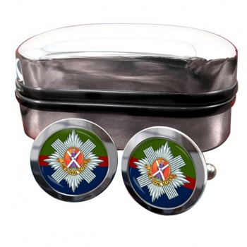 Royal Scots (British Army) Round Cufflinks