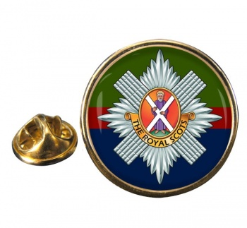 Royal Scots (British Army) Round Pin Badge