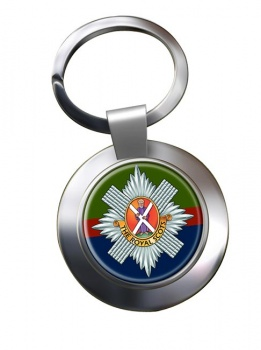 Royal Scots (British Army) Chrome Key Ring