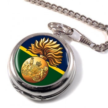 Royal Scots Fusiliers (British Army) Pocket Watch
