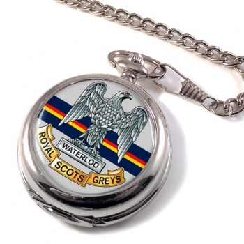 Royal Scots Greys (British Army) Pocket Watch