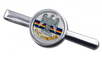 Royal Scots Greys (British Army) Round Tie Clip