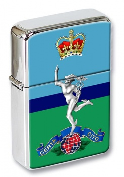 Royal Corps of Signals Flip Top Lighter