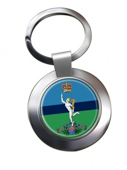 Royal Corps of Signals Chrome Key Ring