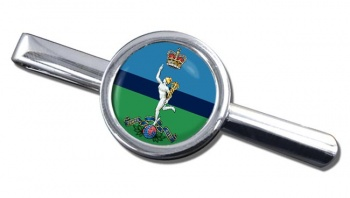 Royal Corps of Signals Round Tie Clip