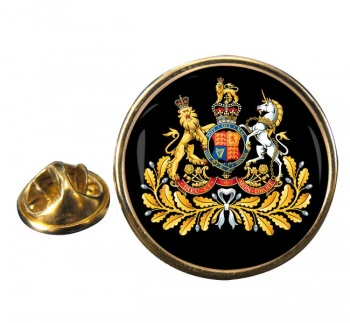 Sergeant Major British Army Round Pin Badge