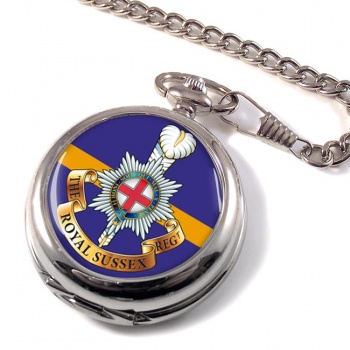 Royal Sussex Regiment (British Army) Pocket Watch