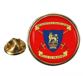 Army Recruiting & Training Division (British Army) Round Pin Badge