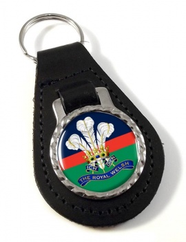 Royal Welsh Leather Key Fob