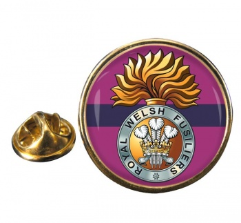 Royal Welsh Fusiliers (British Army) Round Pin Badge