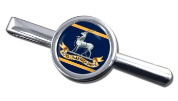 Royal Warwickshire Fusiliers (British Army) Round Tie Clip