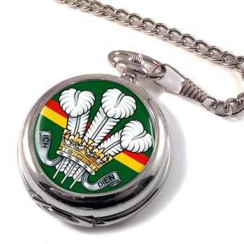 Royal Wiltshire Yeomanry (British Army) Pocket Watch