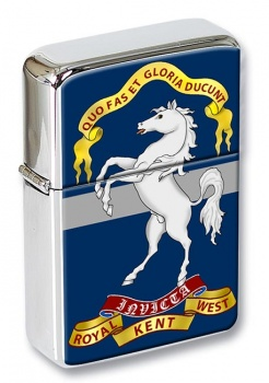 Queen's Own Royal West Kent Regiment (British Army) Flip Top Lighter