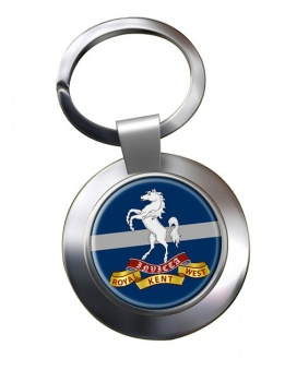 Queen's Own Royal West Kent Regiment (British Army) Chrome Key Ring
