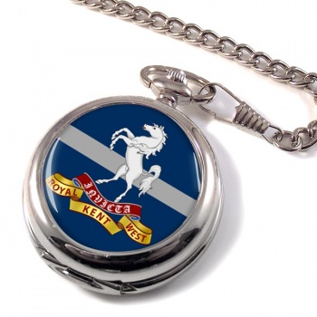 Queen's Own Royal West Kent Regiment (British Army) Pocket Watch
