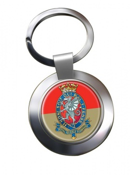 Royal Wessex Yeomanry Chrome Key Ring