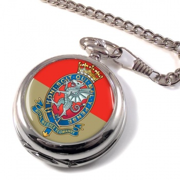 Royal Wessex Yeomanry Pocket Watch