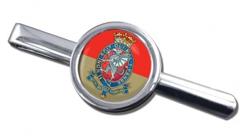 Royal Wessex Yeomanry Round Tie Clip