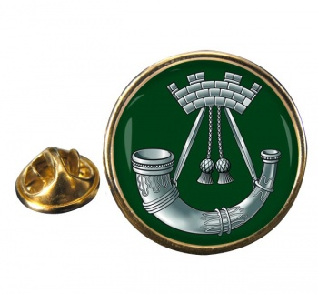 Somerset and Cornwall Light Infantry (British Army) Round Pin Badge