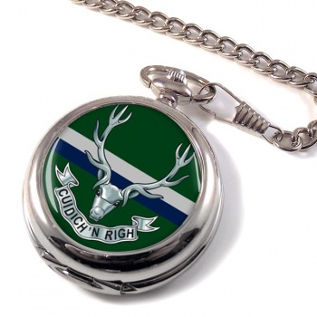 Seaforth Highlanders (British Army) Pocket Watch