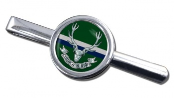 Seaforth Highlanders (British Army) Round Tie Clip