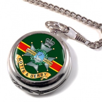 Sherwood Foresters Pocket Watch
