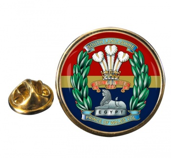 South Lancashire Regiment (British Army) Round Pin Badge
