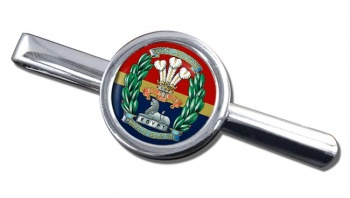 South Lancashire Regiment (British Army) Round Tie Clip