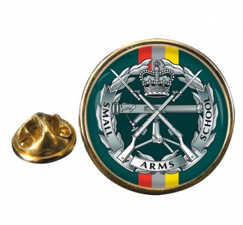 Small Arms School Corps Round Pin Badge