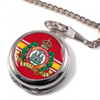 Suffolk Regiment (British Army) Pocket Watch