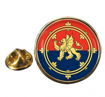 Support Command (British Army) Round Pin Badge