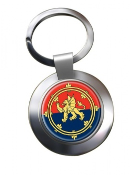 Support Command (British Army) Chrome Key Ring