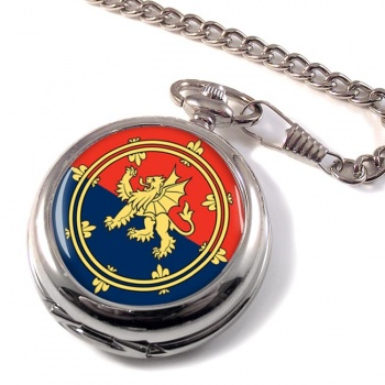 Support Command (British Army) Pocket Watch