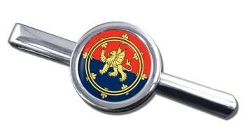 Support Command (British Army) Round Tie Clip