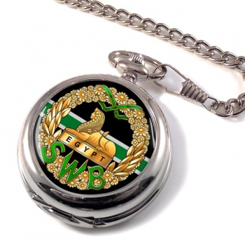 South Wales Borderers (British Army) Pocket Watch