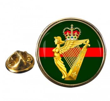 Ulster Defence Regiment (British Army) Round Pin Badge