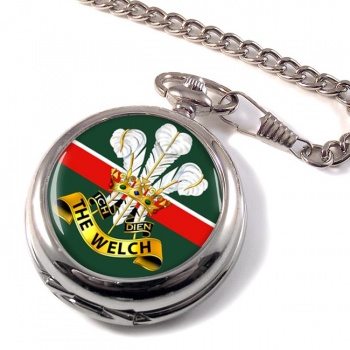 Welch Regiment (British Army) Pocket Watch