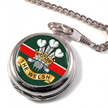 Welsh Regiment (British Army) Pocket Watch