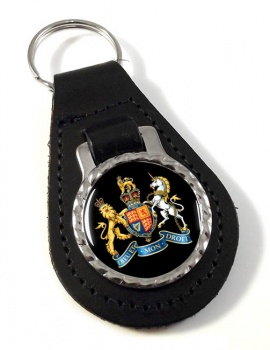 Warrant Officer Leather Key Fob