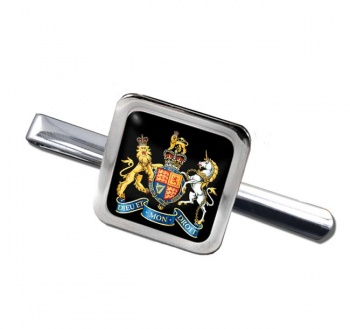 Warrant Officer Square Tie Clip