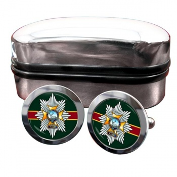 Worcestershire & Sherwood Foresters Regiment Round Cufflinks