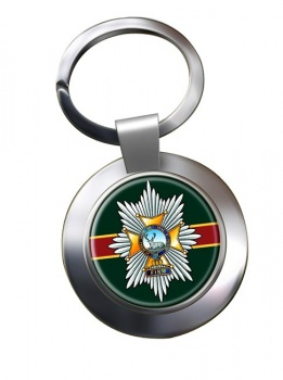 Worcestershire & Sherwood Foresters Regiment Chrome Key Ring