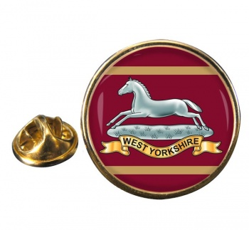 West Yorkshire Regiment (British Army) Round Pin Badge